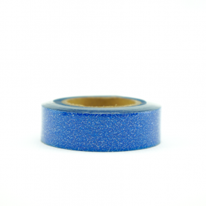 Wolkenweiss Glitter Washi Tape Blue