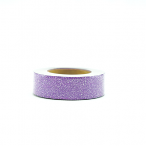 Wolkenweiss Glitter Washi Tape Purple